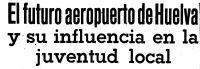 Aeropuerto de Huelva y su influencia en la juventud