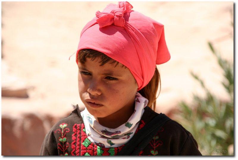 Niña Jordana en Petra