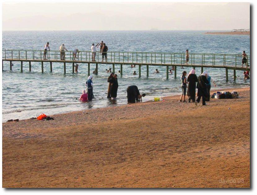 Playa cerca de Aqaba