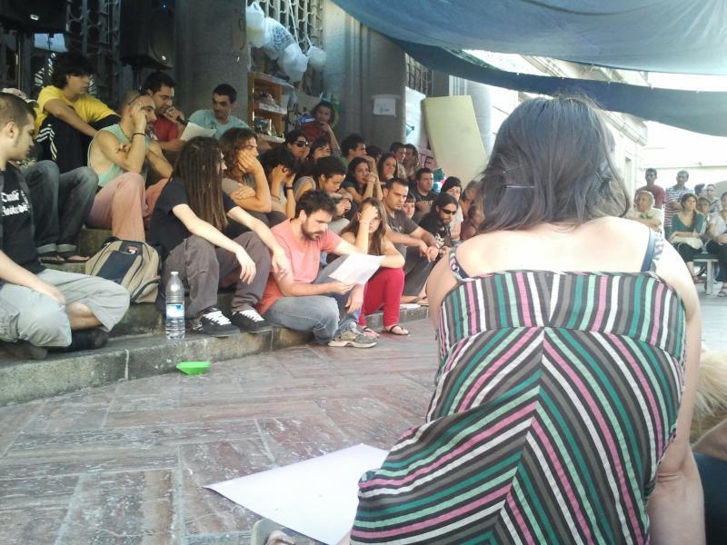 Acampada Huelva 25-05-2011